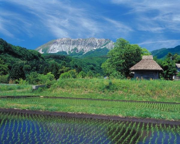 奥大山の絵画スポット御机