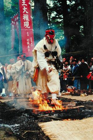 三徳山炎の祭典