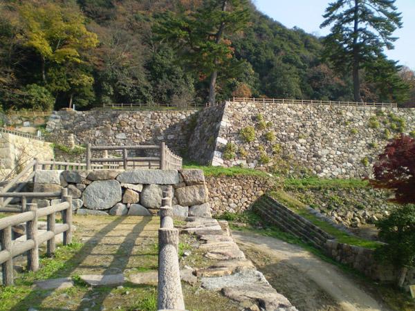 鳥取城跡地