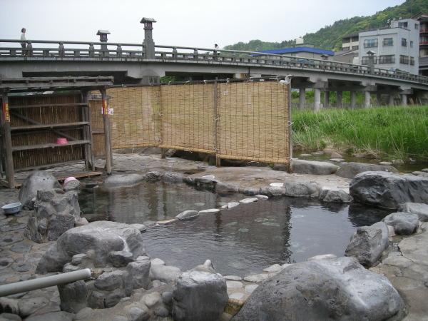 三朝温泉河原風呂