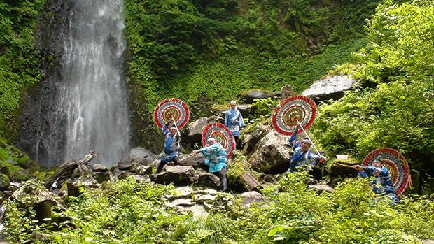 因幡の傘踊り