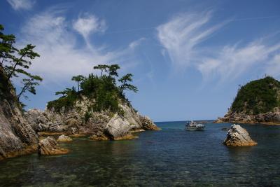 浦富海岸島めぐり遊覧船