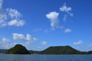 湖山池遊覧船