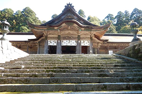 大山寺・大神山神社周辺散策