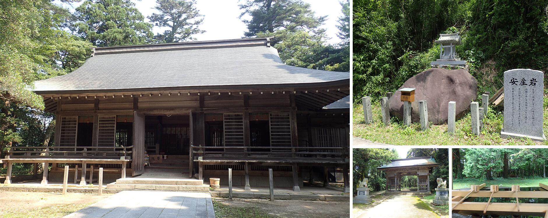倭文神社(湯梨浜町)