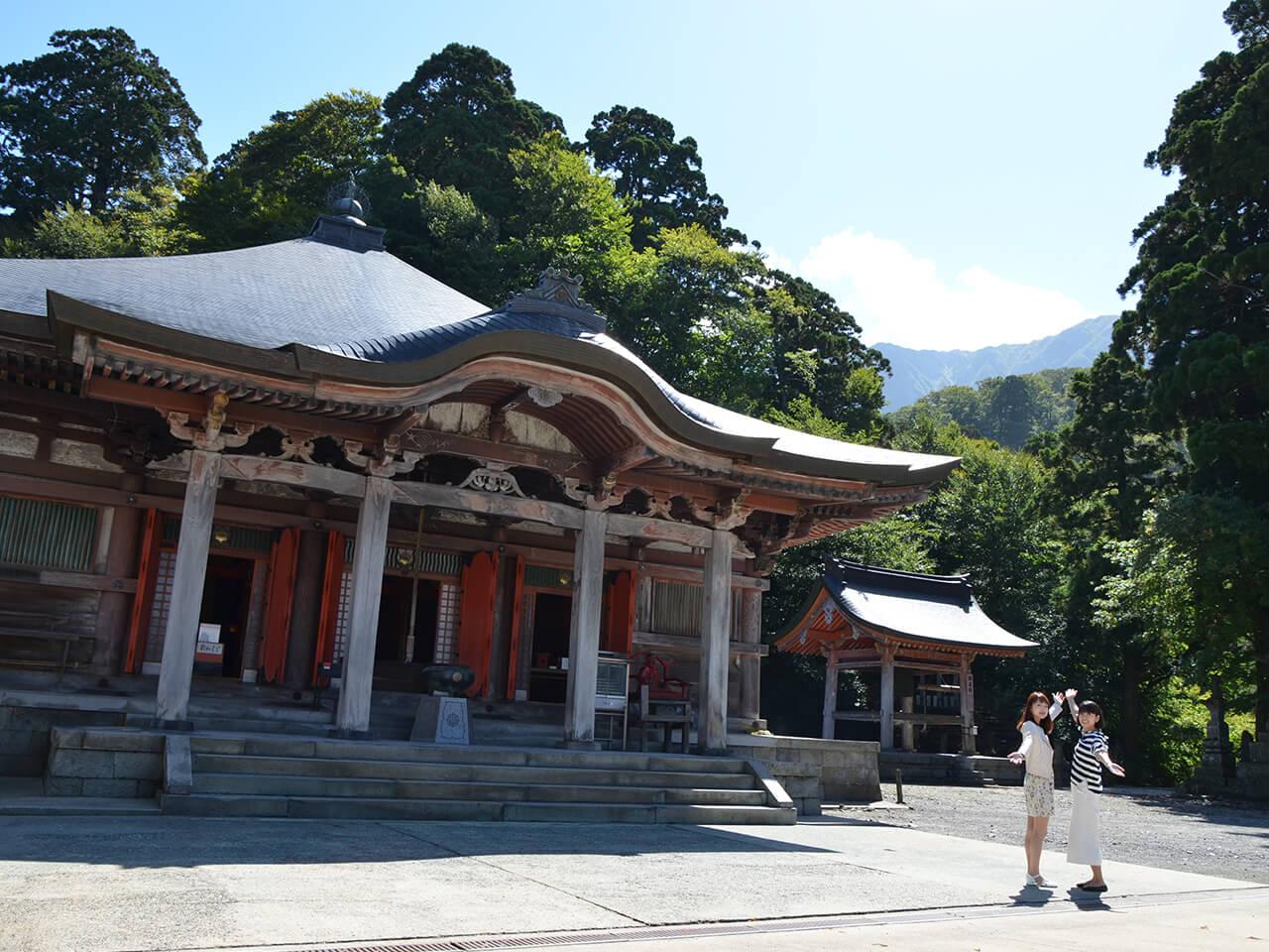 大山寺本堂(だいせんじほんどう)