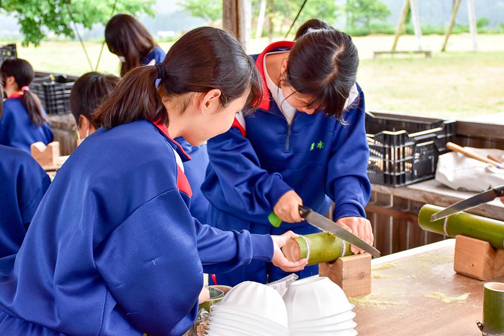 農村竹林整備1