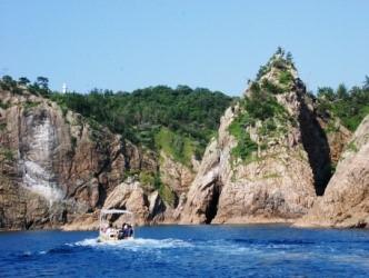 山陰松島遊覧 小型船