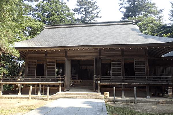 倭文神社(開運八社巡りの所縁神社)