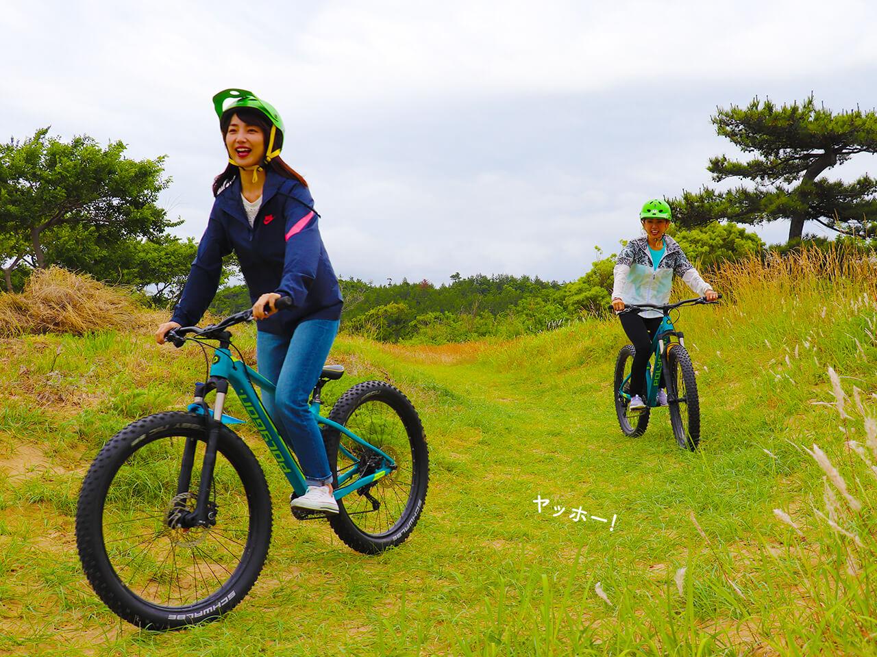 鳥取砂丘でファットバイク!