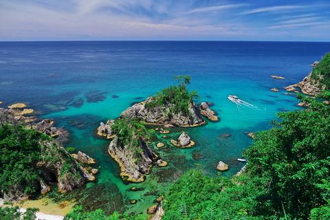 浦富海岸島めぐり遊覧船 遊覧船2