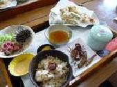 サワガニ料理