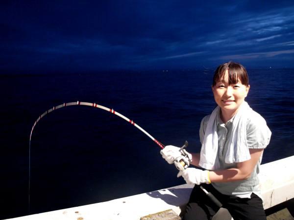 イカ釣り体験なら岩美の海で♪