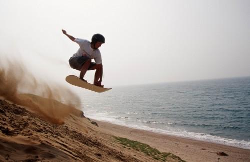 鳥取砂丘サンドボードスクール