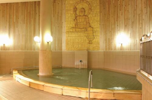 ラジウム温泉入浴