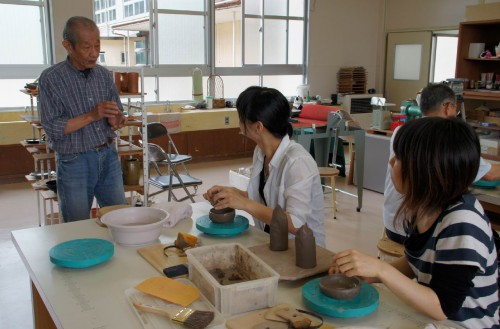 さくら工芸品工房 陶芸体験