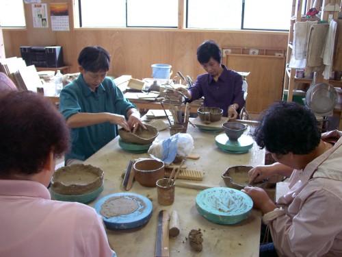 真名焼陶芸体験