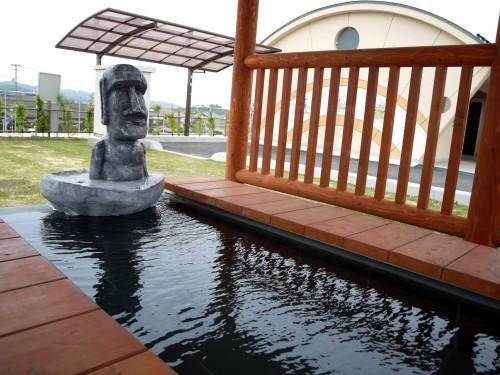 浜村温泉の足湯