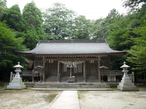 倭文神社(伯耆三ノ宮)
